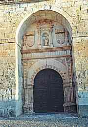 DOOR OF THE CHURCH OF THE CONVENT