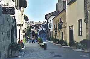 REPRODUCTION: STREET PRINCIPE DE VIANA (VASCONGADES)