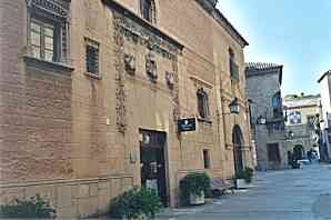 REPRODUCTION: PALACE OF THE CONTRERAS, AYLLON (SEGOVIA)