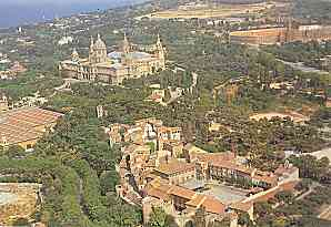 MONTJUÏC: NATIONAL PALACE, OLYMPIC STADIUM AND THE POBLE ESPANYOL